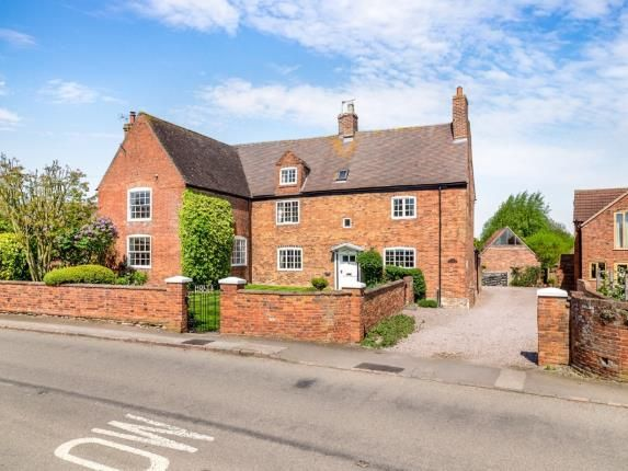 Thumbnail Detached house for sale in Wymeswold Road, Hoton, Loughborough, Leicestershire