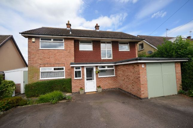 Thumbnail Detached house for sale in Deane Gate Drive, Houghton On The Hill, Leicester