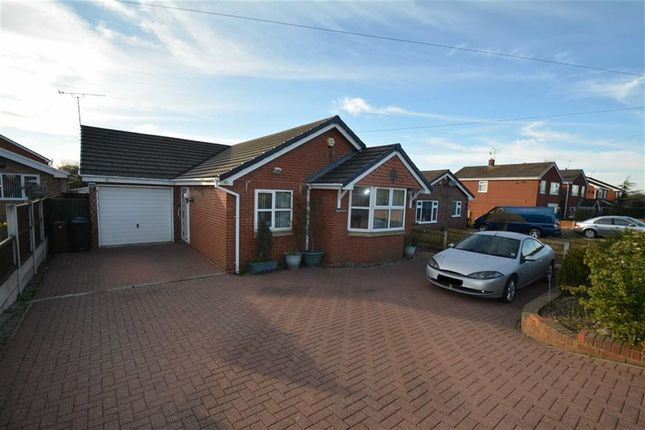Thumbnail Detached bungalow for sale in New Road, Dobshill, Deeside
