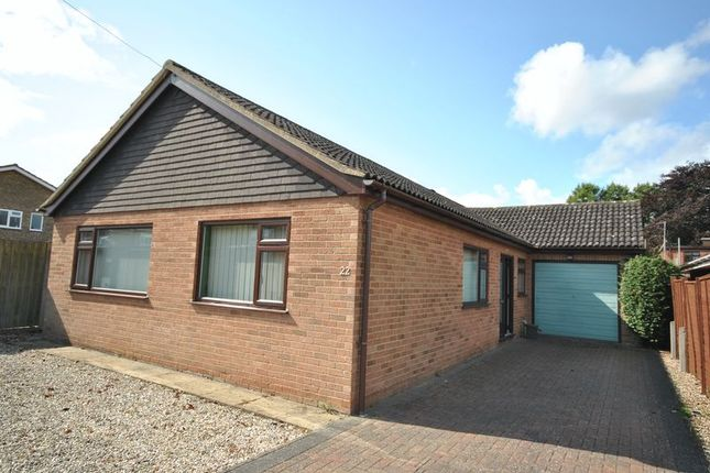 Thumbnail Detached bungalow for sale in Chapel Court, Meadow Way, Norwich