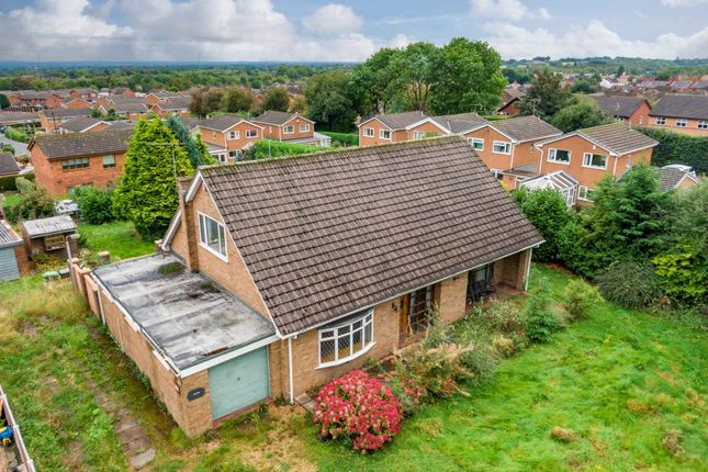 Thumbnail Detached bungalow for sale in Llys Ioan, High Street, Johnstown, Wrexham