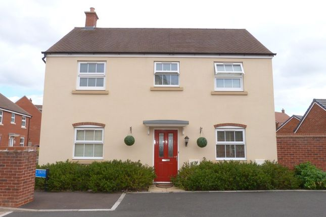 Thumbnail Detached house to rent in Dishforth Drive Kingsway, Quedgeley, Gloucester