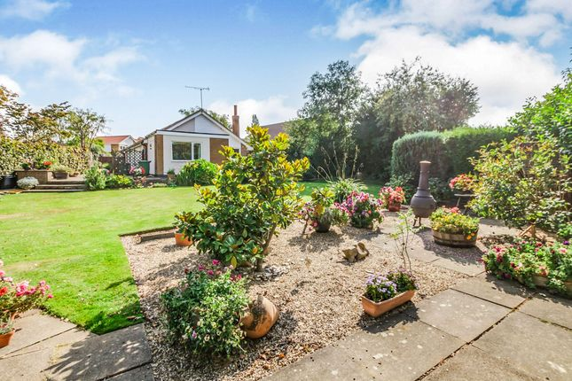 Thumbnail Detached bungalow for sale in Quinton Rise, Oadby, Leicester