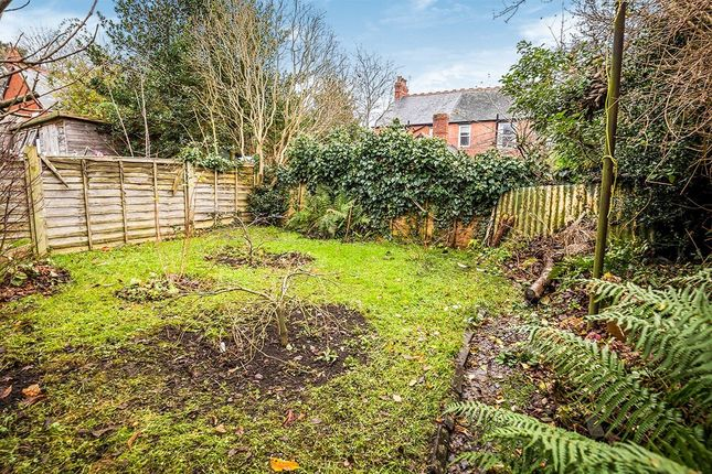 Rear Garden of Welsh Walls, Oswestry, Shropshire SY11