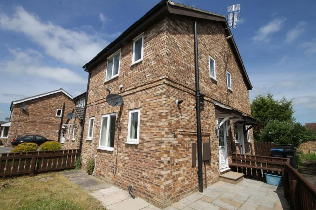 Thumbnail Terraced house to rent in Stapleton Close, Bedale
