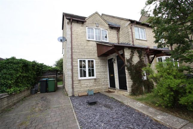 Thumbnail End terrace house for sale in The Old Common, Bussage, Stroud