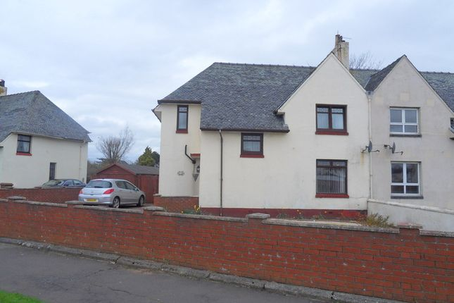 Thumbnail Semi-detached house for sale in St. Quivox Road, Prestwick