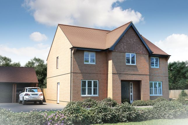 "Thumbnail Detached house for sale in ""The Sandham"" at Furlongs, Drayton, Abingdon"