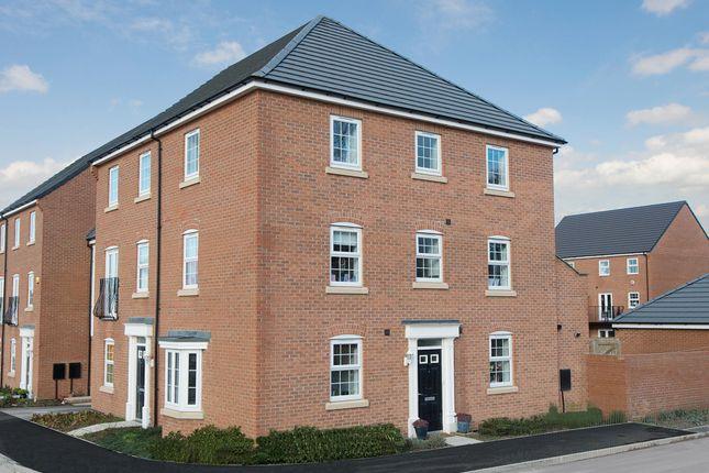"Thumbnail Semi-detached house for sale in ""Durrington"" at Carters Lane, Kiln Farm, Milton Keynes"