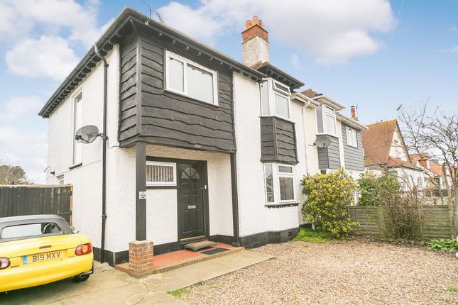 Thumbnail Semi-detached house for sale in West Hill Road, Herne Bay, Kent