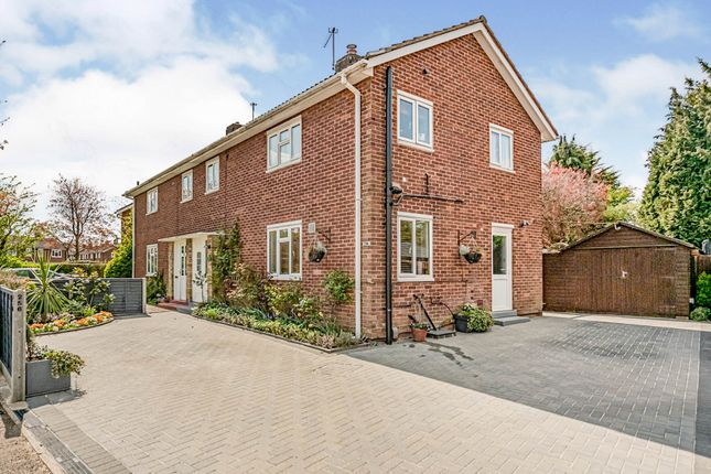 Thumbnail Semi-detached house for sale in Knella Road, Welwyn Garden City