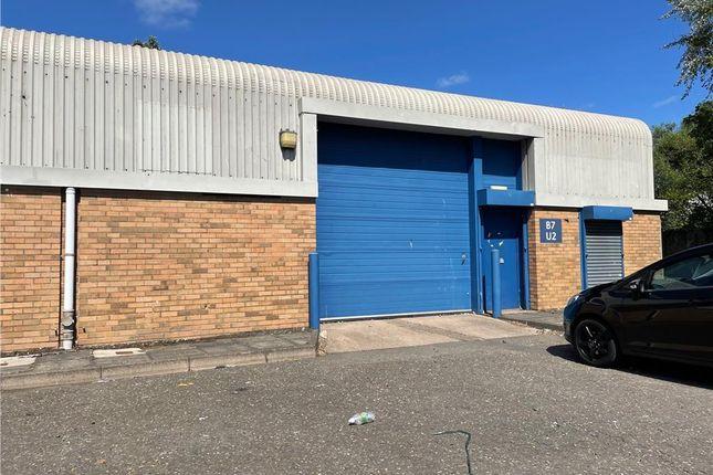 Thumbnail Industrial to let in Block 7 Unit 2, Glencairn Industrial Estate, Kilmarnock