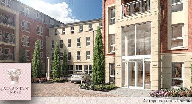Thumbnail Flat for sale in Station Parade, Virginia Water, Surrey