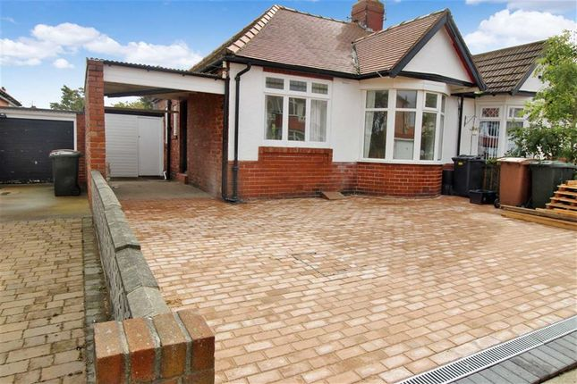 Thumbnail Semi-detached bungalow to rent in Chatsworth Gardens, Whitley Bay