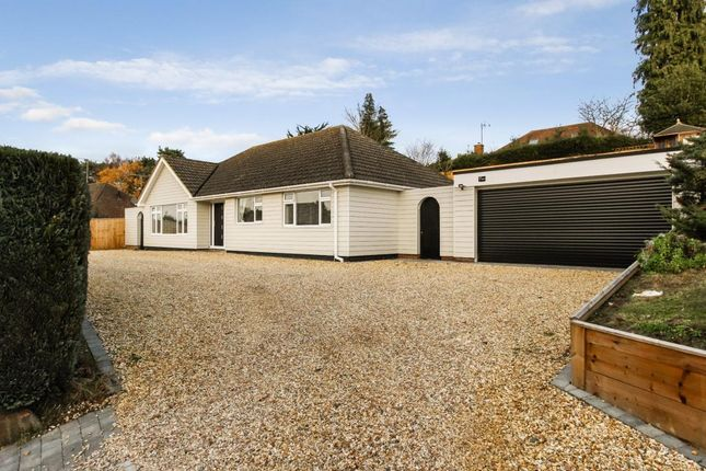 Thumbnail Bungalow for sale in Church Crookham, Fleet