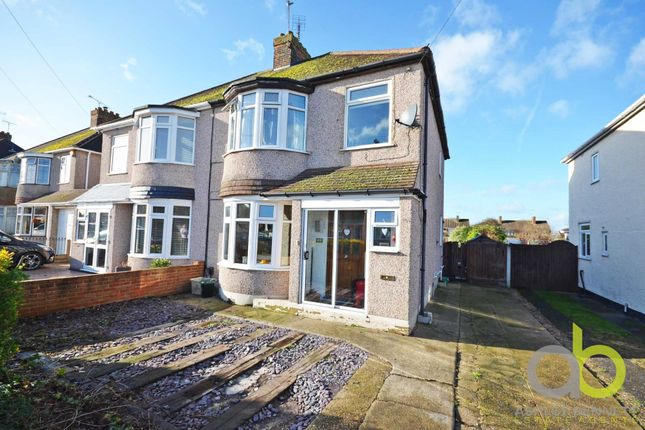 Thumbnail Semi-detached house for sale in Southwold Crescent, Benfleet