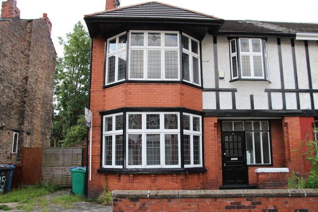 Thumbnail Property to rent in Kedleston Avenue, Longsight, Manchester