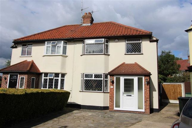 Thumbnail Semi-detached house for sale in Maida Way, North Chingford, London