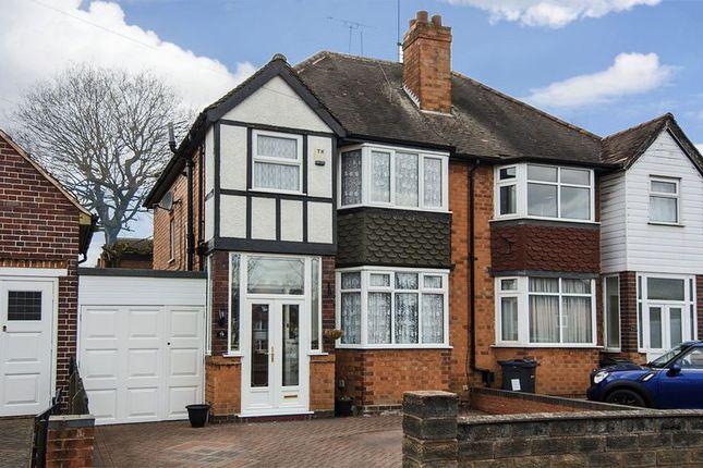 Thumbnail Semi-detached house for sale in Woodcote Road, Erdington, Birmingham