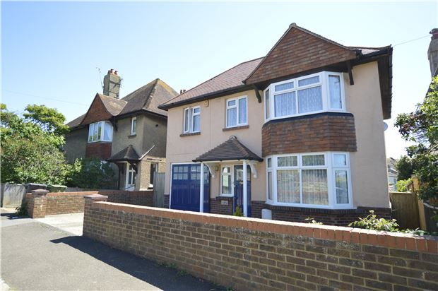 Thumbnail Detached house for sale in Edmund Road, Hastings, East Sussex