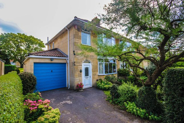 Thumbnail Semi-detached house for sale in Cleevedale Road, Combe Down, Bath