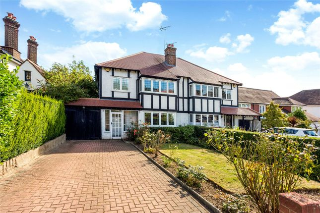 Thumbnail Semi-detached house for sale in Monkhams Avenue, Woodford Green, Essex