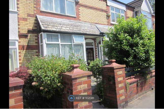 Thumbnail Terraced house to rent in Cheletenham Road, Manchester