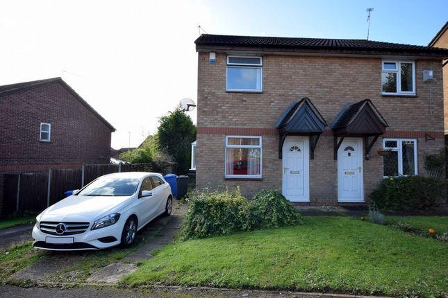 Thumbnail 2 bed semi-detached house for sale in Edwinstowe Road, Oakwood, Derby