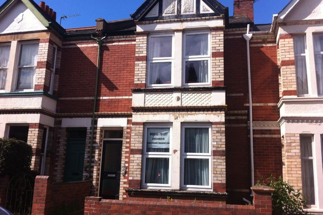Thumbnail Terraced house to rent in Monks Road, Mount Pleasant, Exeter