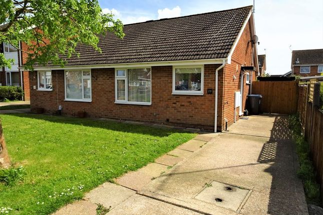 Thumbnail Semi-detached bungalow for sale in Halifax Drive, Worthing