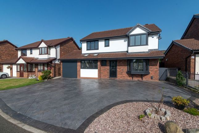 Thumbnail Detached house for sale in Firs Road, Over Hulton, Bolton, Lancashie.
