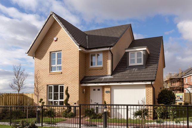 "Thumbnail Detached house for sale in ""Drummond"" at Red Deer Road, Cambuslang, Glasgow"