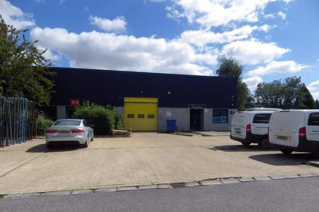 Thumbnail Light industrial to let in Unit 9A Telford Road, Basingstoke