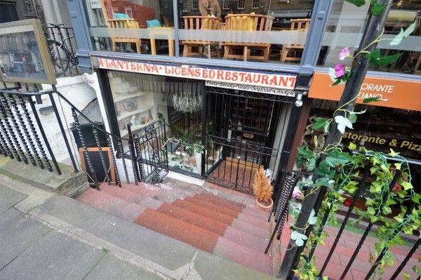 Restaurant/cafe for sale in Hanover Street, Edinburgh