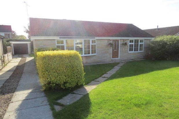 Thumbnail Detached bungalow to rent in Swainsea Drive, Pickering