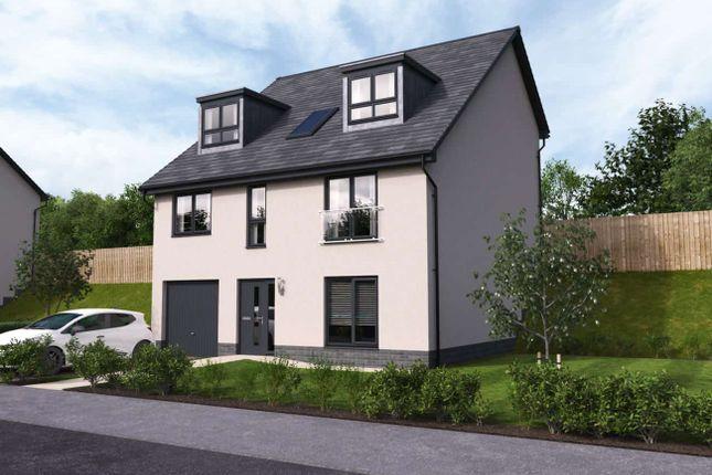 "Thumbnail Detached house for sale in ""Everett Split"" at Ocein Drive, East Kilbride, Glasgow"