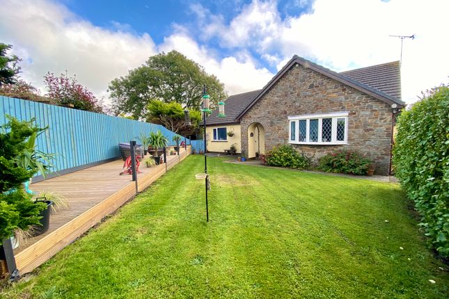 Thumbnail Detached bungalow for sale in Westerton Court, Ludchurch Narberth