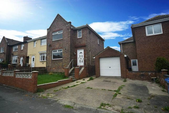Thumbnail End terrace house for sale in Beech Terrace, Peterlee, County Durham