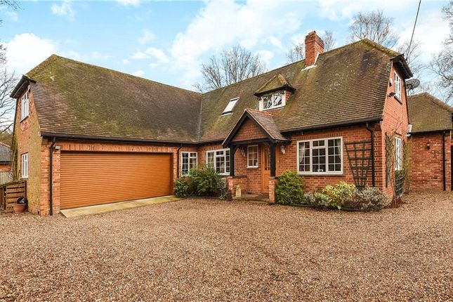Thumbnail Detached house for sale in School Road, Hurst, Reading