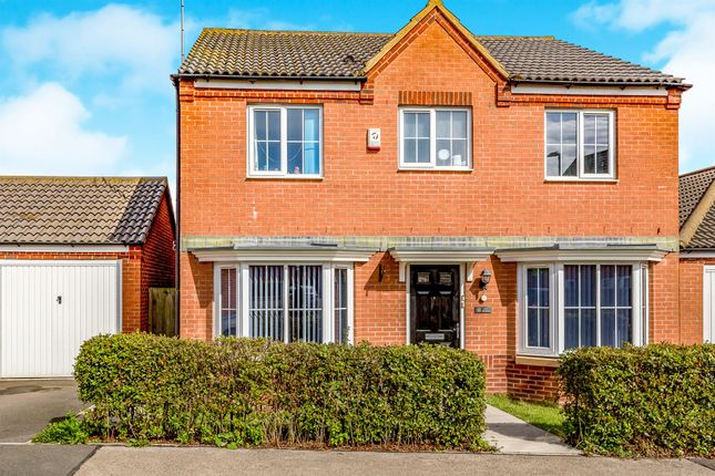 Thumbnail Detached house for sale in Jay Road, Corby