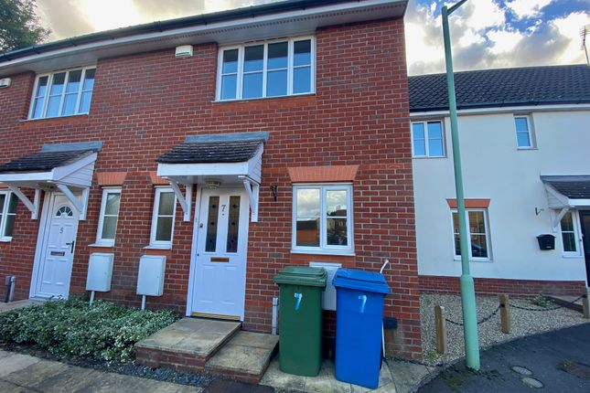 2 bed terraced house to rent in Holly Blue Close, Ipswich IP8