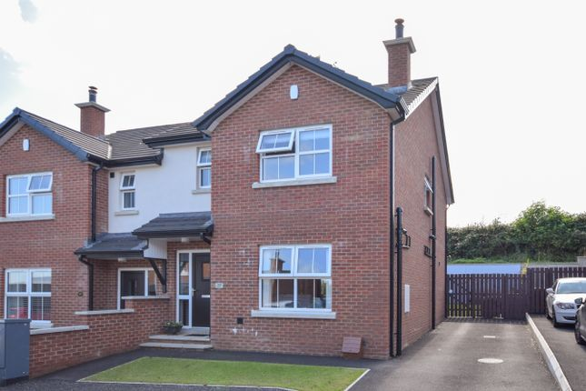 Thumbnail Semi-detached house for sale in 39 Carnwood, Carniny Road, Ballymena