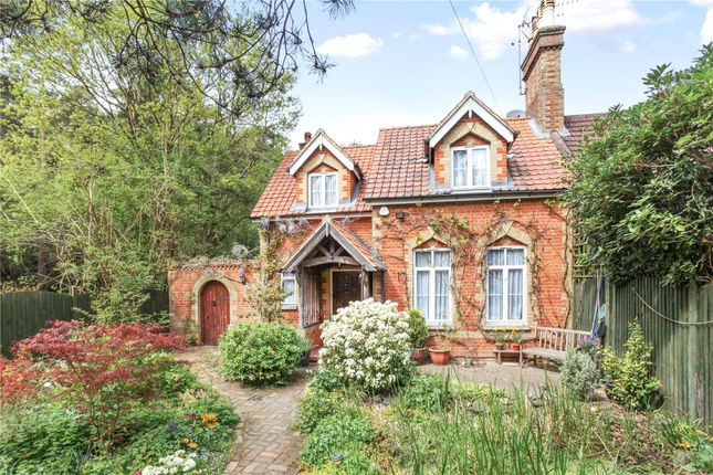 Thumbnail Semi-detached house for sale in The Firs, Pirbright Road, Normandy, Guildford