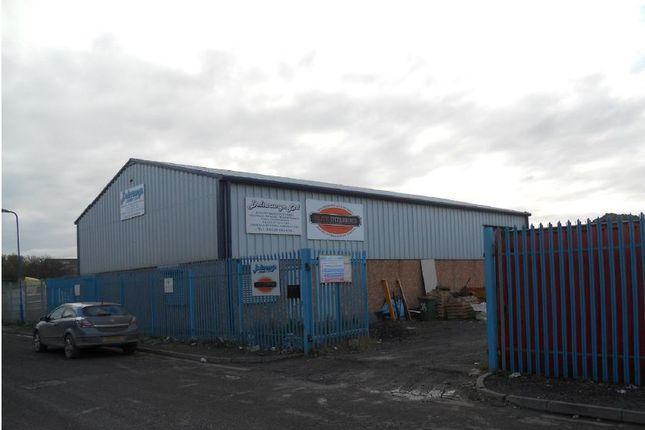 Thumbnail Industrial for sale in Workshop & Yard, Windermere Road, Hartlepool
