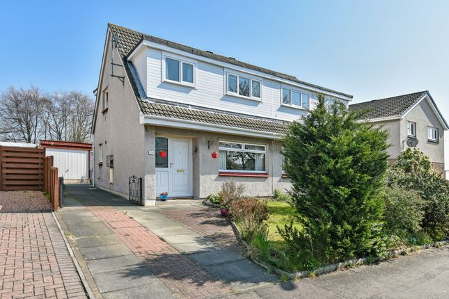 Thumbnail 3 bed semi-detached house for sale in Moray Park, Dalgety Bay