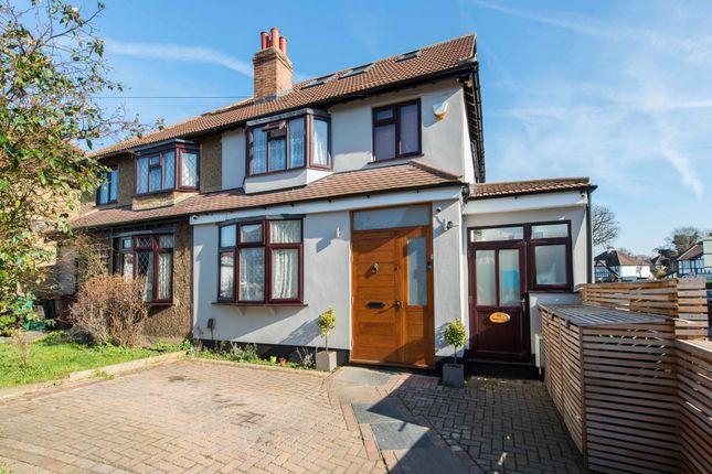 Thumbnail Semi-detached house for sale in Leechcroft Road, Wallington