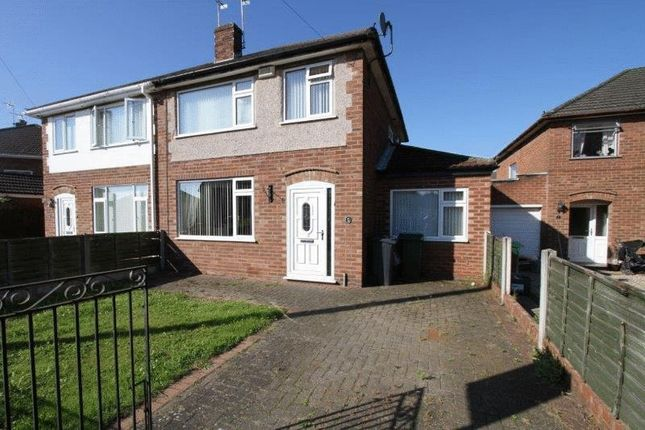 Thumbnail Semi-detached house to rent in Embassy Close, Blacon, Chester