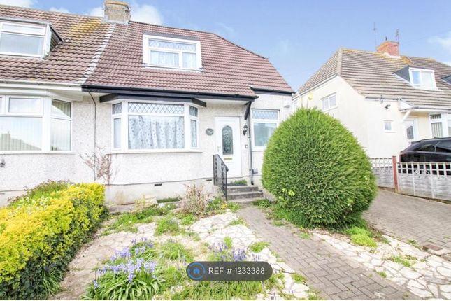 Thumbnail Semi-detached house to rent in Mackie Avenue, Filton, Bristol