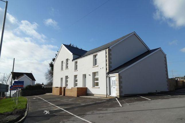 Thumbnail Flat to rent in Melin Ddu, Blackmill Road, Bryncethin, Bridgend