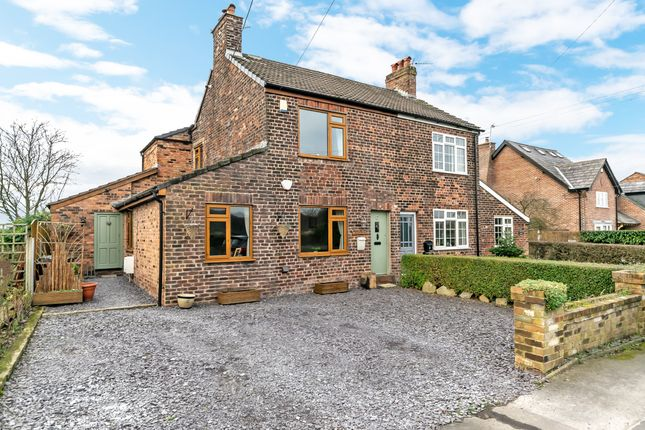 Thumbnail Cottage for sale in Hewitts Cottage, Warrington Road, Hatton, Warrington
